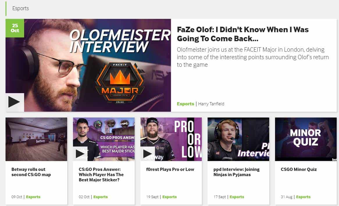 Betway Blog - Esports Tips and Guides