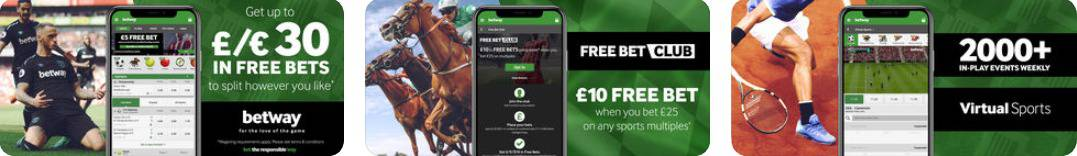 Betway Mobile App for iOS Taken from itunes Store Display