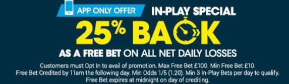 BetBright Sports Betting In-Play Bonus