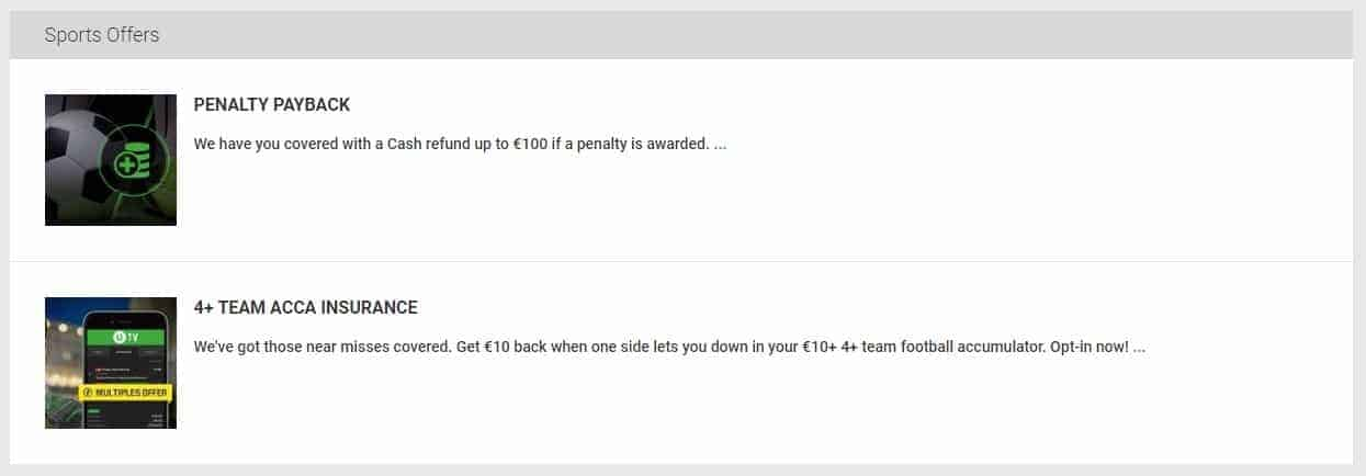 unibet betting ongoing promotions for sport
