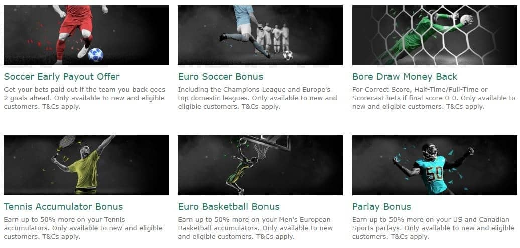 bet36 Sports Ongoing Promotions